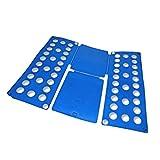 Wäsche Hemden Falter Butler Faltbrett Falthilfe Falt Hilfe blau 59 x 70 cm