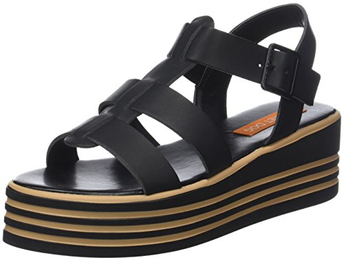 Big Top, Chanclas para Mujer, Negro (Rainbow Black A00), 39 EU Rocket Dog