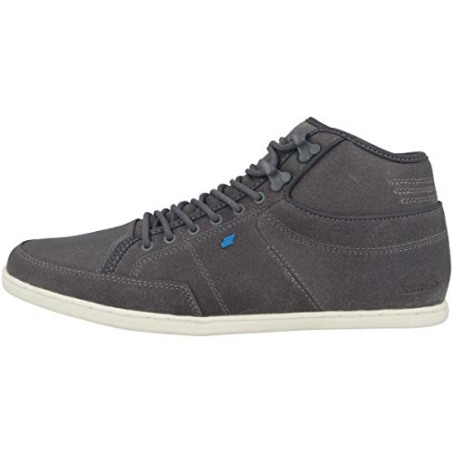 Boxfresh Herren Sneaker mid Swapp 3 Leather, Grey, 45 EU
