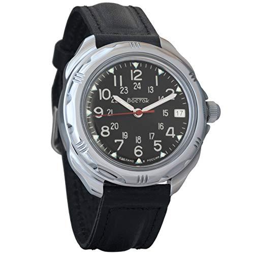Vostok Komandirskie 2415211783Ruso Militar reloj mecánico