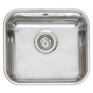 Reginox Comfort Colorado OKG Stainless Steel Integrated Kitchen Sink by Reginox