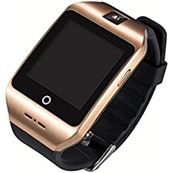 LussoLiv I8s Bluetooth Smart Watch Wearable Devices Health Monitor For iPhone IOS Android Smartphones