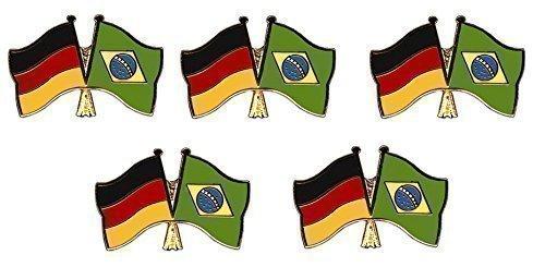 USA Freundschaftspin Yantec Pin Flagge 5er Pack Deutschland