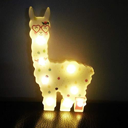 t Tiere Nachtlicht Romantische Atmosphäre Lampe Halloween Christmas Party Dekoration ()