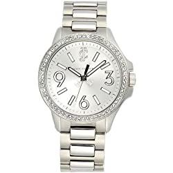 Juicy Couture Ladies' Jetsetter Crystal Encrusted Watch - 1900958