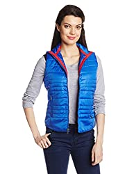 Pepe Jeans Womens Jacket (OLLIE SL_Royal_Medium)