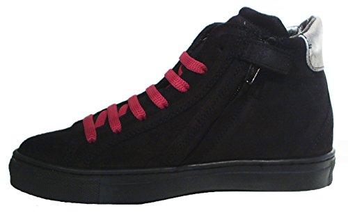 Colpatua Leder High Top Sneaker Glitzer Stern Reißverschluss 34