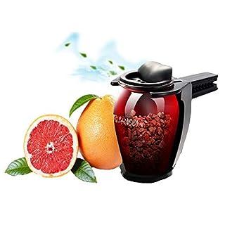 FancyAuto Lufterfrischer für Auto Air Vent Zeolith Lufterfrischer entfernen Geruch Parfüm Duft Interior Aromatherapie Auto Ornamente Solid Air Luftreiniger Aroma(Rot)