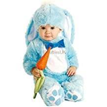 Baby Boys Girls Pink or Blue Easter Bunny Rabbit Halloween Christmas Photoshoot Fancy Dress Costume Outfit
