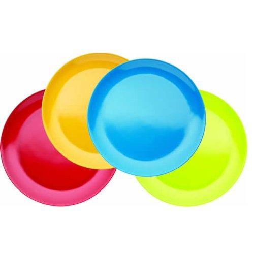 Miniamo Brights - Platos de melamina (4 Unidades)