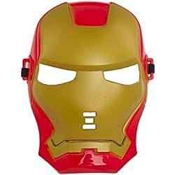 Shenky - Máscara para disfrazarse en carnaval o Halloween - Varios diseños - Trans rojo / dorado