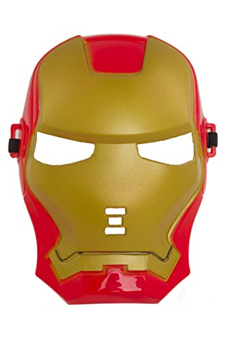 Shenky Masken für Fasching Karneval Halloween Anonymous Vendetta (Trans Rot-Gold)