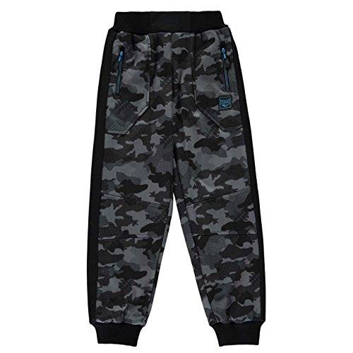 Junior Golf Hose (Everlast Kinder Jungen Premier Jogginghose Hose Trainingshose Mit Bündchen Camouflage 11-12 Jahre L)