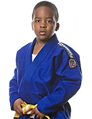 Tatami Niños BJJ GI Blue Nova–Niños BJJ GI–Kimono, color azul, tamaño 122