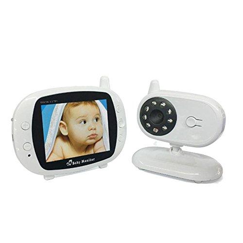 DXNSPF Babyphone, W-Lan Digital Nachtsicht Gegensprechanlage RaumtemperaturüBerwachung Musikspieler Stimmenkontrolle Funktion, Zuhause Schlafzimmer Baby Produkt
