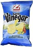 Zweifel Salt & Vinegar Chips mit Schweizer Alpensalz & Rapsöl - 5er Pack - 5 x 90 g, 450 g