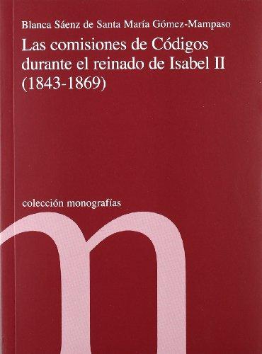 comisiones-de-codigos-durante-el-reinado-de-isabel-ii-1843-1869