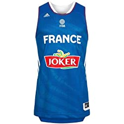 adidas Performance Maillot Basket France Officiel