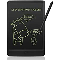 NEWYES 10 Pulgadas Tableta de Escritura LCD Almohadilla con Llave de Bloqueo Tablero de Dibujo para Niños Gráfico Electrónico Lmanes de Nevera para la Oficina de la Escuela en el Hogar