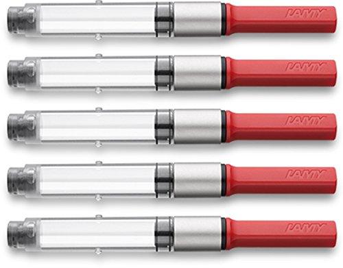 Lamy 1324763 Konverter Z28 für Füllfederhalter (ehemals Z24) (5er Pack)