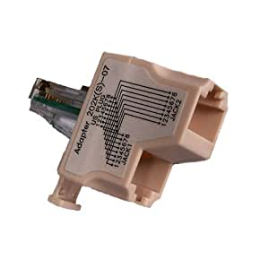 RJ45 doubler all 8 wires (1 supplied) by Solwise