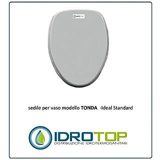 Ideal Standard Toilet Round White Zip cromo-sedile-asse Toilet Bianco Euro