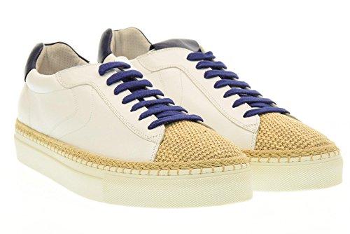 Voile Blanche Shoes Men Sneakers 0012011141.01.9103 Amalfi Blanco-azul