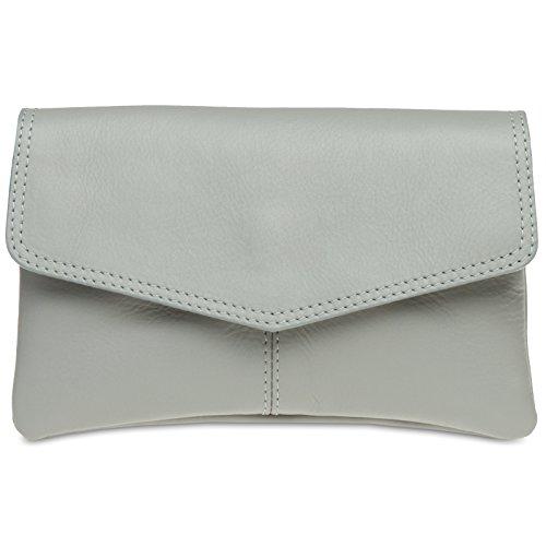 caspar-ta322-pochette-de-soire-pour-femme-en-cuir-couleurgris-clair