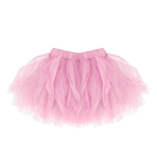 Röcke Frauen Baby Mädchen Tutu Ballett Röcke Familie Passende Phantasie Party Rock - Eltern Kind Plissee Shorts Röcke (Tochter, Rosa) (Baby Mini Me Kostüme)