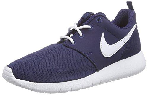 Nike Jungen Roshe One Gs 599728-416 Low-Top, Blau (Midnight Navy/White), 38 EU (Nike Roshe Jungen Schuhe)