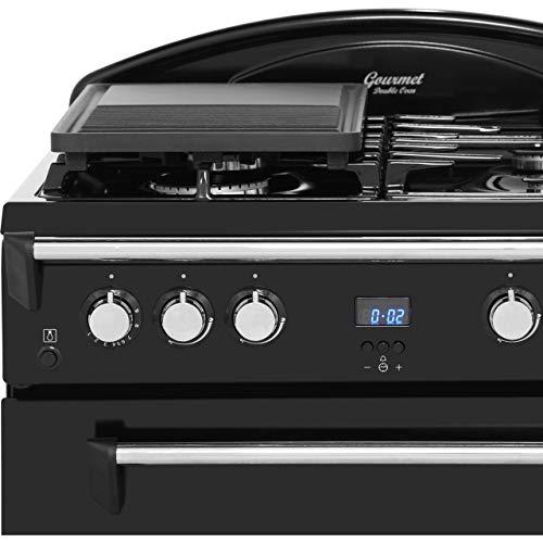 418v0mnZBqL. SS500  - Leisure GRB6GVK Gas Range Cooker Free Standing Black
