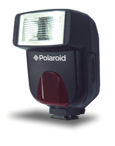 Polaroid Studio Series Auto Focus/TTL Flash Compact flash Black - Camera Flashes (Compact flash, Black, 0.3 s, Olympus,Panasonic, 24 m, Auto)
