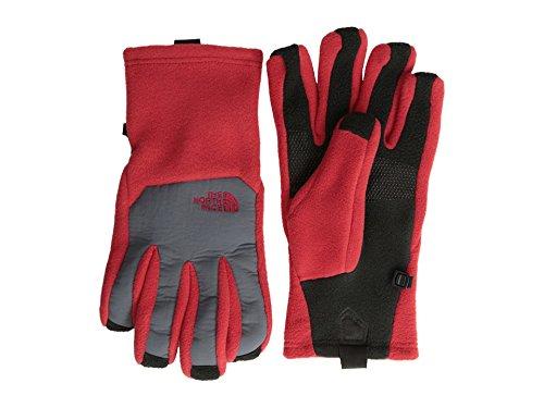 The North Face Men's Denali Etip Gloves Rage Red/Vanadis Grey XL Red Denali Fleece