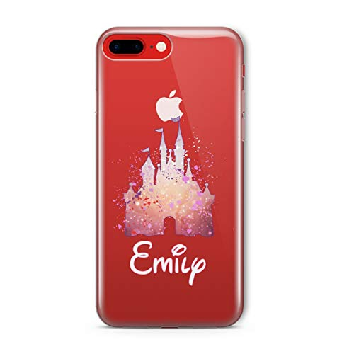 the best attitude 77136 ce24b SmartGiftShop Cartoon Movie PERSONALISED CLEAR TPU Phone Cover Case for  iPhone & Samsung Disney-Samsung Galaxy S9-Disney Castle Pink