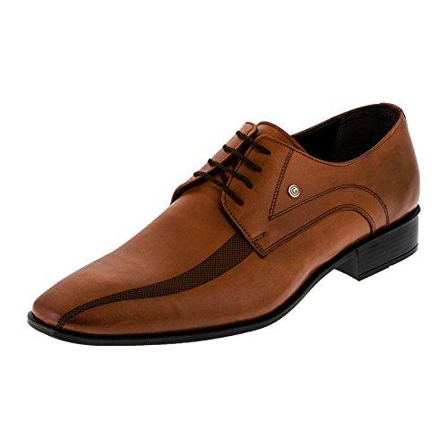 Cimi , Chaussures de ville à lacets pour homme #156bn Braun