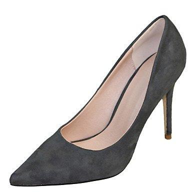 Moda Donna Sandali Sexy donna tacchi Primavera / Autunno T-cinturino in pelle di brevetto Office & Carriera / abito / Casual Stiletto Heel OthersBlack / blu / giallo / bianco / dark gray