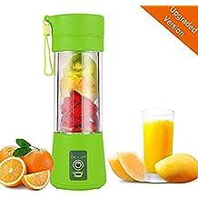 AUFELL versión Mejorada Licuadora Personal, Vaso exprimidor portátil/Mezclador de Frutas eléctrico/batidora