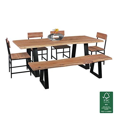 Tavolo Da Pranzo Gaya Tronco D 39 Albero In Legno Massiccio