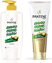 Pantene Silky Smooth Care Shampoo and Conditioner (650ml, 180ml) - Advanced Hair Fall Solution