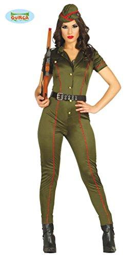 KOSTÜM - SOLDATENGIRL - Größe: 38/40 (M), Militär sexy Mädchen Armee Soldier Uniform (Armee Mädchen Sexy Kostüme)