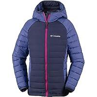 Columbia Powder Lite Girls Hooded Insulated Jacket