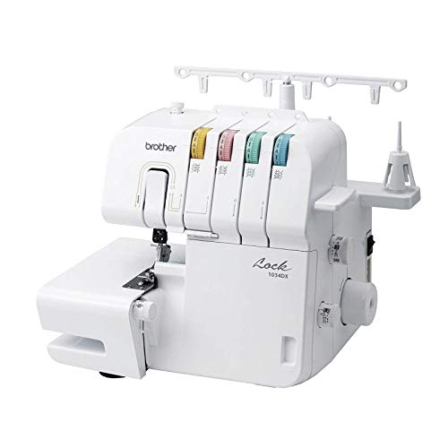 Brother Overlock 1034dx + máquina de Coser (Dealer del Paquete