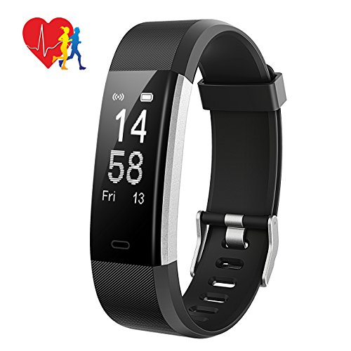 Fitness Tracker, Mpow Activity Tracker Heart Rate Monitor with 14 Exercise Modes Sleep Monitor with GPS Route Tracking Pedometer Step Counter with 4 Watch Faces for Android or iOS Smartphones