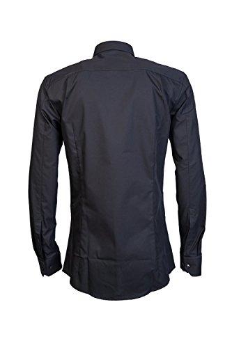 Hugo Boss -  Camicia classiche  - Classico  - Maniche lunghe  - Uomo Black