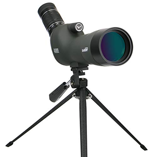 Svbony SV29 Telescopio Terrestre 20-60x60 Impermeable Ocular Grande Prisma Bak-4 FMC Telescopio...