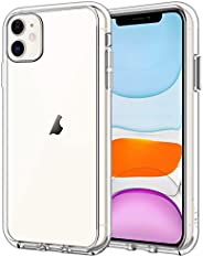 JETech Case for iPhone 11 (2019) 6.1-Inch, Shock-Absorption Bumper Cover, Anti-Scratch Clear Back