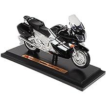 Yamaha FJR-1300 Schwarz Weiss Mit Sockel 1/18 Maisto Modell Motorrad mit oder ohne individiuellem Wunschkennzeichen