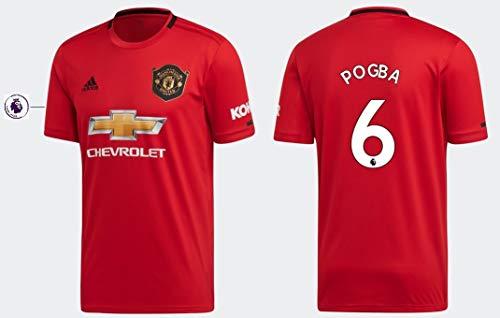 Manchester United Trikot Kinder 2019-2020 Home PL - Pogba 6 (164)