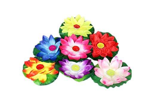 10 Pack Schwimmende Lotus Kerze (Schwimmende Lotus Kerzen)