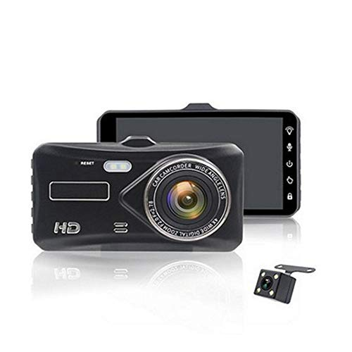 Dvr Vcr (SJZC HD-Autokamera 1080P DVR-Armaturenbrett WDR-Kamera VCR-Kameras im Fahrzeug 170 ° Betrachtungswinkel LCD-Monitor Kreisförmige Aufnahme G-Sensor-Bewegungserkennung Z10)